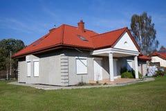 唯一系列灰色的房子 库存图片