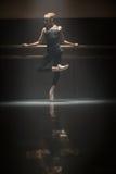 唯一跳芭蕾舞者 免版税库存图片