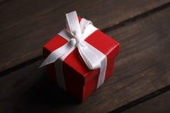 唯一配件箱的礼品 免版税库存照片