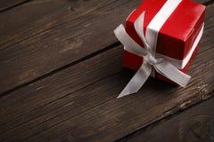 唯一配件箱的礼品 库存照片