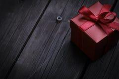 唯一配件箱的礼品 免版税库存图片