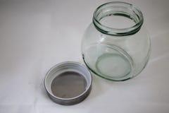唯一玻璃瓶子 库存图片
