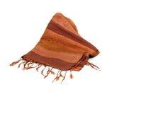 唯一01条围巾的丝绸 库存照片