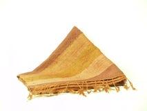 唯一02条围巾的丝绸 免版税库存照片