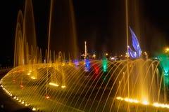 唱歌喷泉在奥林匹克公园 图库摄影