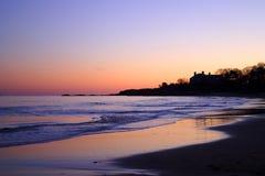 唱歌海滩 免版税库存照片