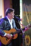 唱歌的执行者,演员,吉他弹奏者亚历山大Blok 免版税库存照片