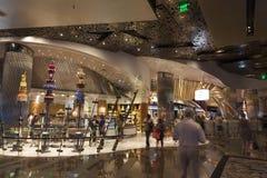 唱腔旅馆内部在拉斯维加斯, 2013年8月06日的NV 免版税图库摄影