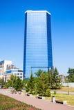 商业中心全景,克拉斯诺亚尔斯克 免版税库存图片