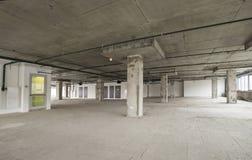 商业中心内部建设中 免版税图库摄影