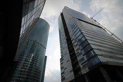商业中心和它的居民 免版税库存图片