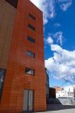 商业中心大厦与蓝天的 免版税图库摄影
