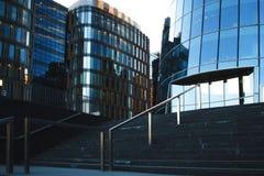 商业中心,台阶 库存照片
