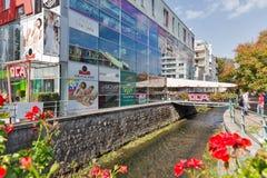 商业中心OCA在Banska Bystrica,斯洛伐克 图库摄影
