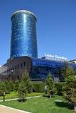商业中心SANKT-PETERBURG在阿斯塔纳 免版税库存图片