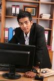 商业主管年轻人 库存照片