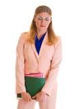 商业主管庄严的妇女 免版税库存图片