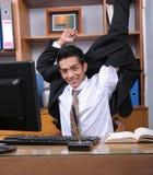 商业主管年轻人 图库摄影