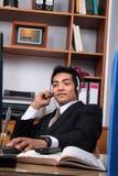 商业主管年轻人 免版税库存照片