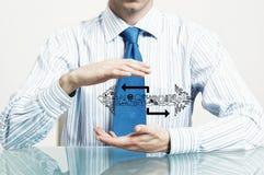 商业保护您 免版税图库摄影