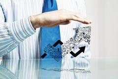 商业保护您 免版税库存图片