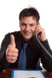 商业保证的人满意度 免版税图库摄影