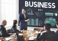 商业公司公司组织概念 库存图片