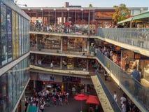 商业区在汉城 免版税库存图片