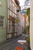 商业同业公会的城市布里曼,德国老镇  免版税库存照片