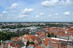 商业同业公会的市吕贝克,德国 免版税库存照片