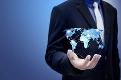 商业和技术 免版税库存照片
