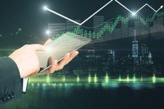 商业和财务概念 免版税库存照片
