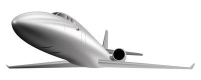 商业喷气机光飞机 免版税库存图片