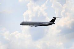商业喷气机飞机 库存照片