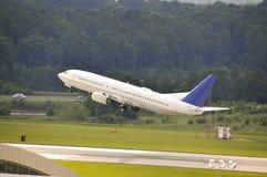 商业喷气机飞机 免版税库存照片