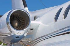 商业喷气机 库存图片