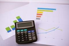 商业图表 免版税库存照片