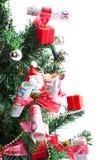 商业圣诞树 库存图片