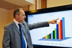 商业增长  免版税图库摄影