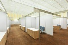 商业展览内部 库存图片