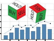 商业市场-购买,出售,举行 库存照片