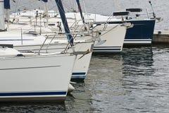 商业帆船 库存照片