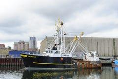 商业性捕鱼船古代挪威人 图库摄影