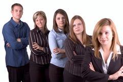 商业我的小组 免版税库存照片