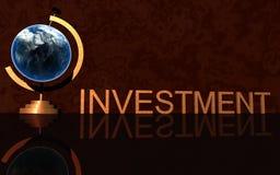 商业投资徽标 库存图片