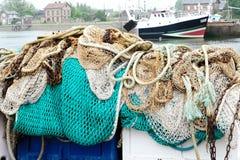 商业捕鱼业 免版税图库摄影