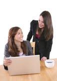 商业查出的小组妇女 免版税库存照片