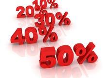 商业概念百分比荡桨销售额贸易 向量例证