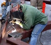 商业焊工 免版税库存照片