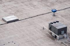商业空调和通风系统 图库摄影